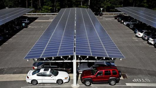 Inquiry About Solar Roof Parking